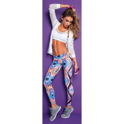 Bia Brazil Pink Tiger Eye leggings