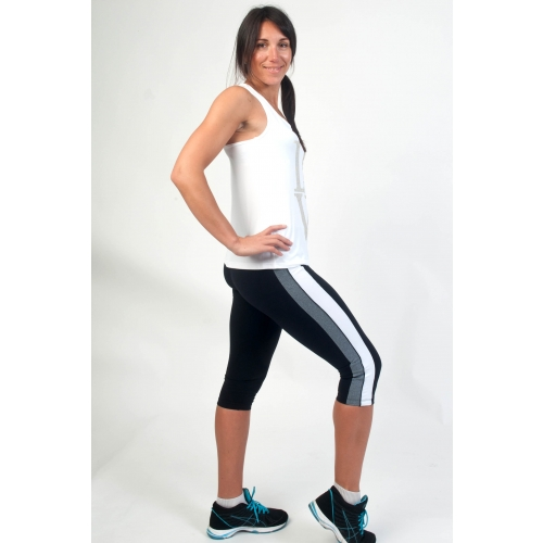 Bia Brazil Double Stripe Short Leggings