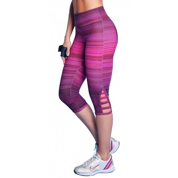 Bia Brazil Pink Rainbow Short Leggings