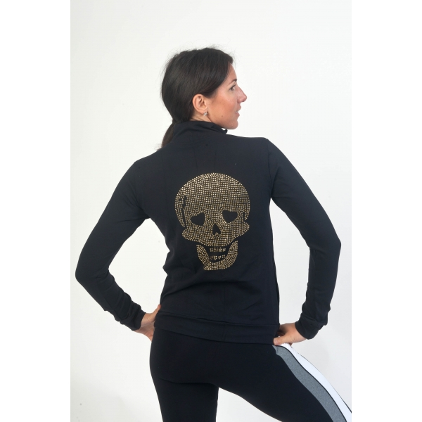 Bia Brazil Zip Up Skull Jacket