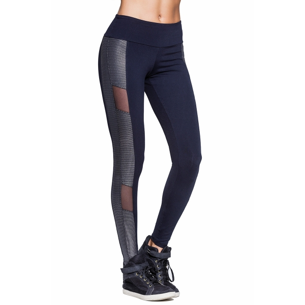 Bia Brazil Silver Flash Leggings