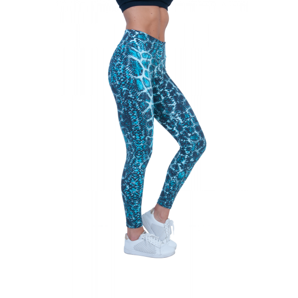 Bia Brazil Green Snake skin Leggings