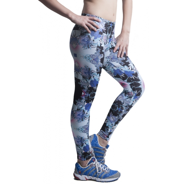 Bia Brazil Blue Paisley Leggings-178