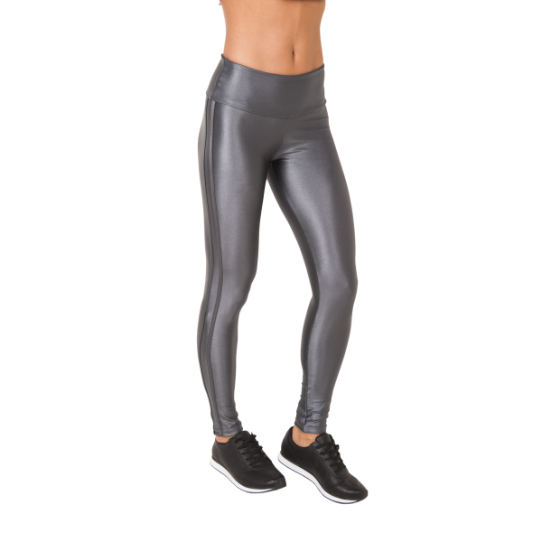 Shimmer Shine Sliver leggings Double stripe grey