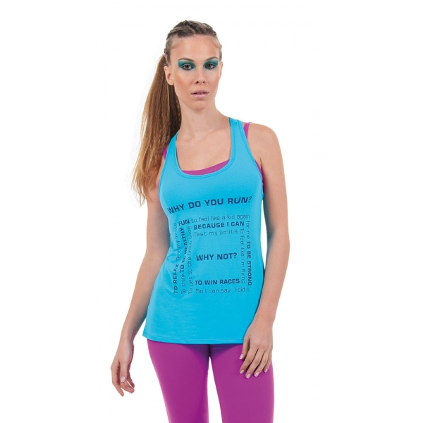 Bia Brazil 'Why Do You Run?' Tank Top-487