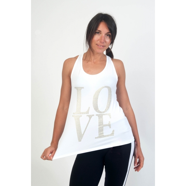Bia Brazil 'Love' Tank Top-491