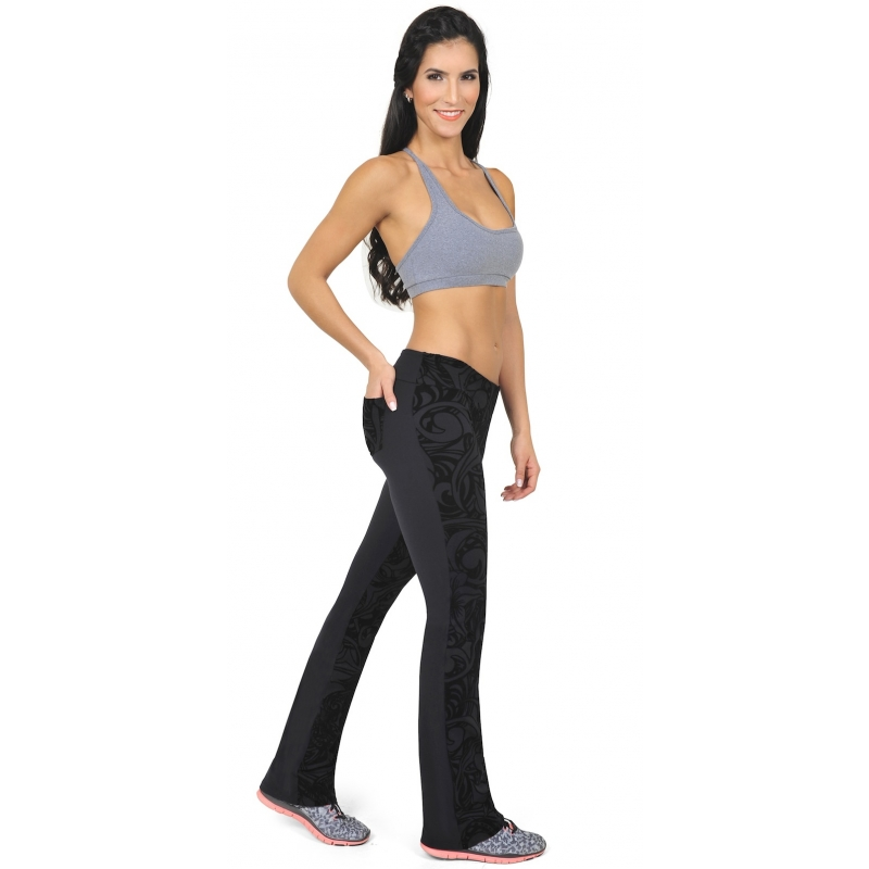 69947ce66ca504 Gym Clothes, Gym Gear, Gym wear for Women Bia Brazil Black Floral ...